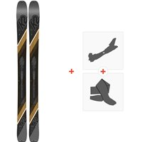 Ski K2 Wayback 96 2020 + Fixations randonnée + Peau10C0201.101.1