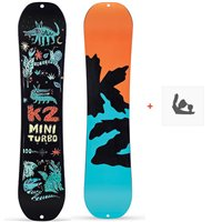 Snowboard K2 Mini Turbo 2020 + Fixations de snowboard11D0028.1.1