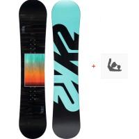 Snowboard K2 Vandal 2020 + Fixations de snowboard11D0029.1.1