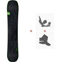 Splitboard Amplid Milligram Split 2020 + Fixations de splitboard + PeauxA.190106
