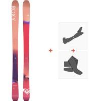 Ski Roxy Shima 90 2020 + Tourenbindungen + FelleRXSK20-SH90-FT
