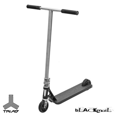 Triad Scooter Complete Blackmail Black/Raw 2019