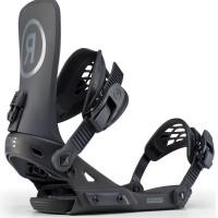 Fixation Snowboard Ride Revolt Black 2020