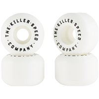 Killer Wide Cut Skateboard Wheels 4-Pack 2019