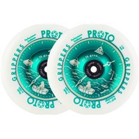 Proto Parrish Isaacs Time's Up Grippers Pro Scooter Wheels 2-Pac 110mm 2019