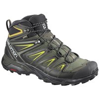 Salomon Shoes X Ultra 3 Wide Mid Gtx Castor Gra 2019