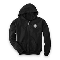 Now Hoodie Zip Now Black 2020