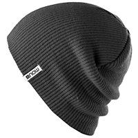 NOW Beanie Slouch Black 1Size 2020