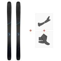Ski Head Kore 117 Grey 2020 + Fixations de ski randonnée + Peaux315409