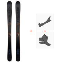 Ski Head Kore 87 grey 2020 + Fixations de ski randonnée + Peaux314049