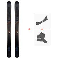 Ski Head Kore 87 grey 2020 + Tourenbindungen + Felle314049