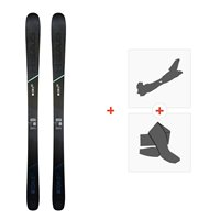 Ski Head Kore 93 W 2020 + Fixations de ski randonnée + Peaux315489