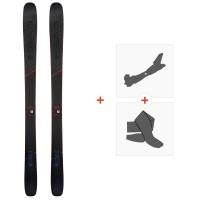 Ski Head Kore 99 Grey 2020 + Fixations de ski randonnée + Peaux315439