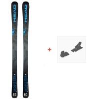 Ski Head Monster 83 Ti Sw 2020 + Fixations de ski315169