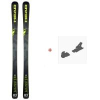 Ski Head Monster 83 X Sw 2020 + Fixations de ski315179