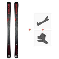 Ski Head Monster 88 Ti 2020 + Fixations de ski randonnée + Peaux