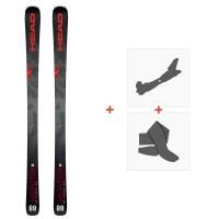 Ski Head Monster 88 Ti Sw 2020 + Fixations de ski randonnée + Peaux315149
