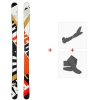 Ski Head Caddy 84 2020 + Fixations de ski randonnée + Peaux315529