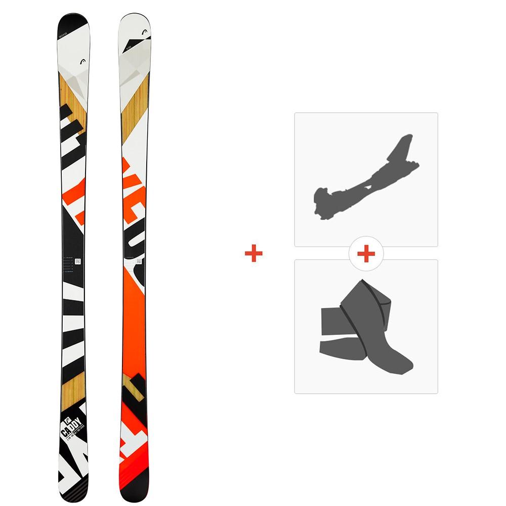 Ski Head Caddy 84 2020 + Fixations de ski randonnée + Peaux