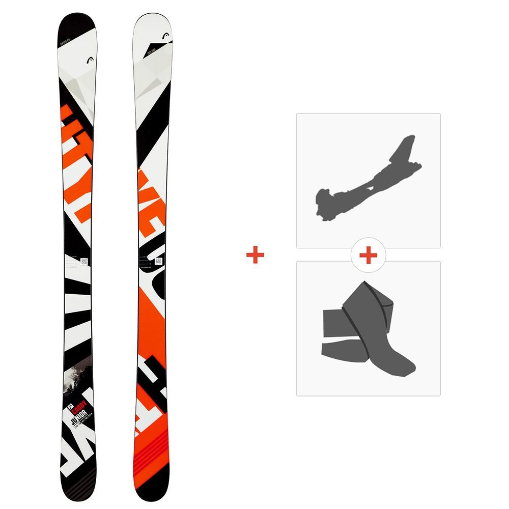 Ski Head Caddy Jr 2020 + Fixations de ski randonnée + Peaux314069