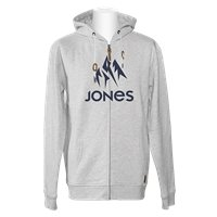 Jones Hoodie Z. Truckee Gray Heather 2020