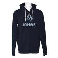 Jones Hoodie Z. Truckee Navy Heather 2020