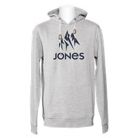 Jones Hoodie Truckee Gray Heather 2020