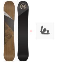 Snowboard Nidecker Escape 2020 + Fixations de snowboardSN200140