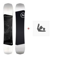 Snowboard Nidecker Sensor 2020 + Fixations de snowboardSN200150
