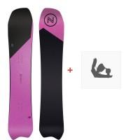 Snowboard Nidecker Tracer 2020 + Fixations de snowboardSN200235