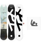 Snowboard Yes  Hybrid 2020 + Snowboard Bindungen