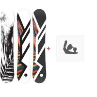 Snowboard Hel Yes. 2020 + Snowboard Bindungen