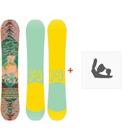 Snowboard Yes Emoticon 2020 + Snowboard BindungenSY200198