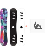 Snowboard Yes Ghost 2020 + Fixations de snowboardSY200141