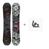 Snowboard Yes Globe Nsb 2020 + Fixations de snowboardSY200096