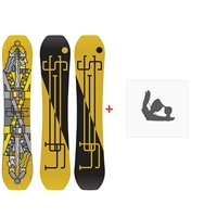 Snowboard Yes Jackpot 2020 + Fixations de snowboardSY200150