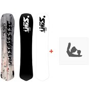 Snowboard Yes Optimistic 2020 + Fixations de snowboardSY20010