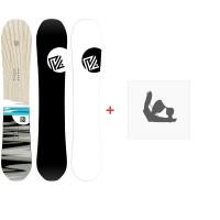 Snowboard Yes Pick Your Line 2020 + Snowboard BindungenSY200115