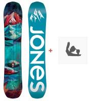 Jones Snowboard Dream Catcher 2020 + Fixations de snowboardSJ200249