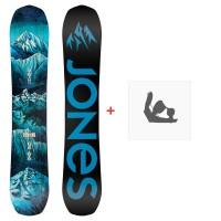Jones Snowboard Frontier 2020 + Fixations de snowboardSJ200121