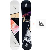 Snowboard K2 Kandi 2020 + Fixations de snowboard11D0030.1.1