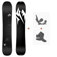 Splitboards Jones Carbon Solution 2020 + Fixations de Splitboard + Peaux