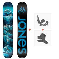 Jones Splitboards Frontier Split 2020 + Fixations de Splitboard + PeauxSJ200215