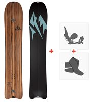 Jones Splitboards Hovercraft Split 2020 + Fixations de Splitboard + PeauxSJ200230