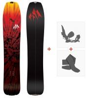 Splitboards Jones Mind Expander 2020 + Fixations de Splitboard + Peaux