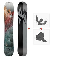 Jones Splitboards Solution 2020 + Fixations de Splitboard + PeauxSJ200205
