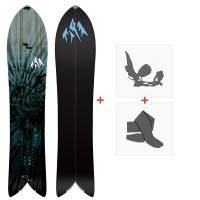 Splitboards Jones Storm Chaser 2020 + Fixations de Splitboard + Peaux