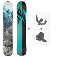 Jones Splitboards Women'S Solution 2020 + Splitboard Bindungen + FelleSJ200265