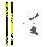 Ski Head Frame Wall 84 2020 + Fixations de ski randonnée + Peaux315509