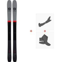 Ski Volkl 90Eight 2020 + Fixations de Ski Randonnée + Peaux118428